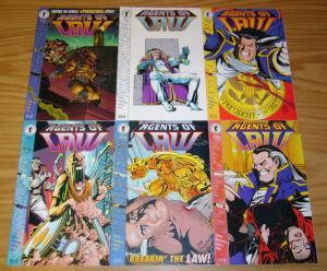 Agents of Law #1-6 VF/NM complete series - keith giffen - predator set 2 3 4 5