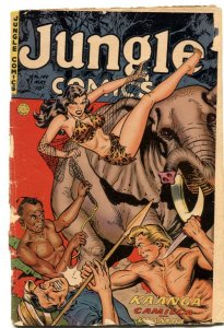 Jungle Comics #149 1952-Kaanga - elephant cover G-