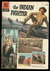 INDIAN FIGHTER FOUR COLOR #687 1956-KIRK DOUGLAS MOVIE FN