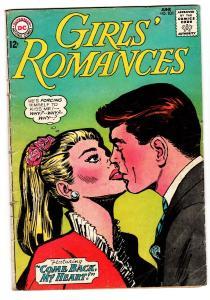 GIRLS' ROMANCES #101 comic book-D.C. ROMANCE vg