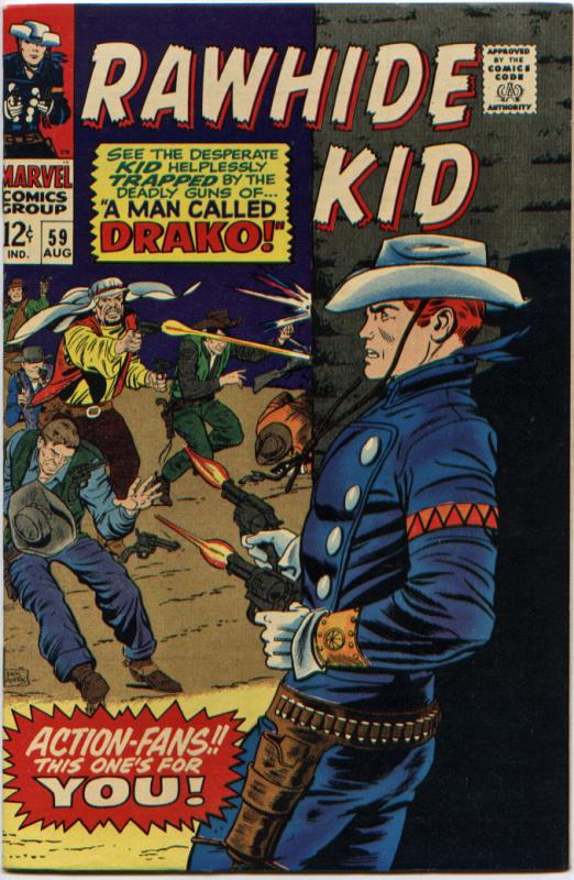 Rawhide Kid #59 NM 9.4 Stan Lee/Larry Leiber