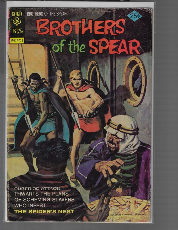 Brothers of the Spear #11 (Gold Key, 1974)