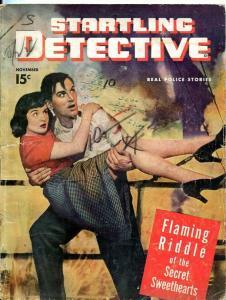 STARTLING DETECTIVE-NOV1947-SECRET SWEETHEARTS-MR. BLUEBEARD-PHANTOM HOUSE FR/G