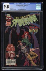 Amazing Spider-Man #411 CGC NM/M 9.8 White Pages