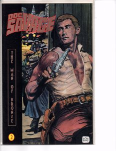 Millennium Comics Doc Savage #2 The Man of Bronze Doug Wildey Cover