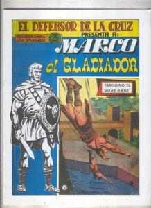 Marco el Gladiador facsimil numero 05: Tarquino el soberbio