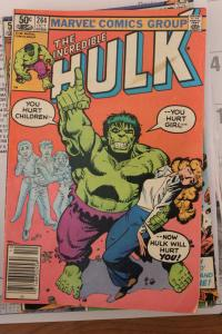 Incredible Hulk 264  VG
