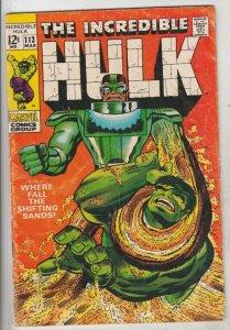 Incredible Hulk #113 (Mar-69) VG+ Mid-Grade Hulk