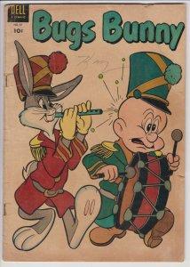 Bugs Bunny #37 (Jun 1954) 3.0 GD/VG Dell