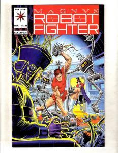 Magnus Robot Fighter # 19 NM Valiant Comic Book Rai Bloodshot Unity MR6