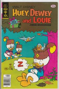 Huey Dewey and Louie Junior Woodchuks #52 (Sep-78) NM- High-Grade Huey Dewey ...