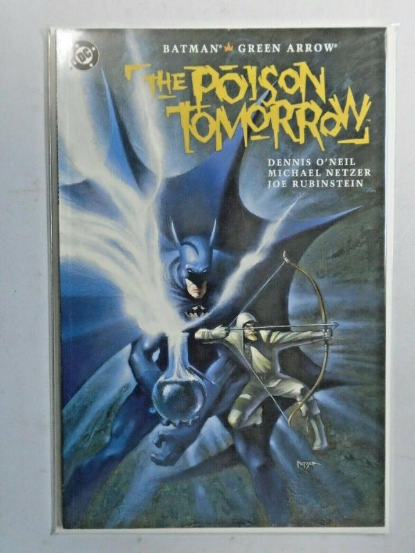Batman Green Arrow Poison Tomorrow #1 6.0 FN (1992)