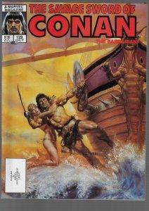 Savage Sword of Conan #129 (Marvel, 1986)
