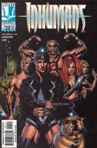 Inhumans (Vol. 2) #4 VF/NM; Marvel   save on shipping - details inside