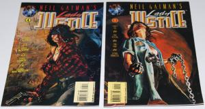 Neil Gaiman's LADY JUSTICE  #4,5 - Tekno Comics ~VF/NM (HX201)