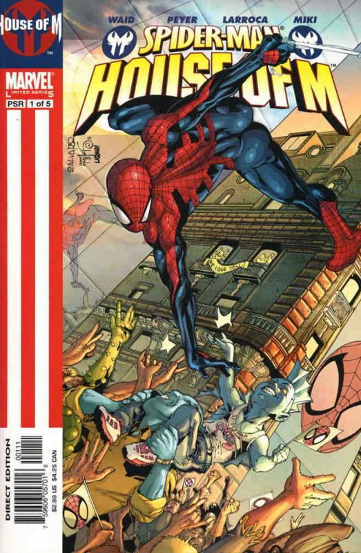 Spider-Man: House of M #1 VF/NM; Marvel | save on shipping - details inside
