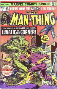 Man-Thing #21 (Oct-75) VF High-Grade Man-Thing
