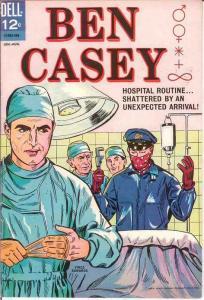 BEN CASEY (1962-1965 DELL) 10 VF Vincent Edwards drawn COMICS BOOK