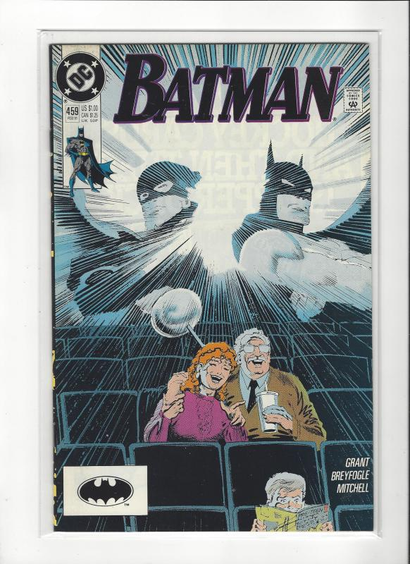 BATMAN #459 DC COMICS NM