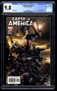 Captain America (2005) #9 CGC NM/M 9.8 White Pages