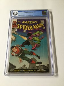 Amazing Spider-Man 39 CGC 5.0 White Pages Silver Age Marvel
