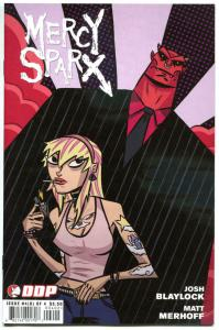 MERCY SPARX #4, NM-, Josh Blaylock, Femme Fatale, 2008 2009