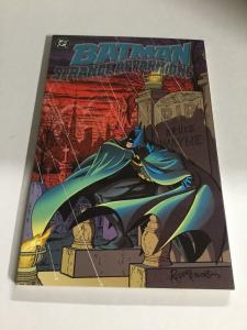 Batman Strange Apparitions Nm Near Mint DC Comics Nm Near Mint SC TPB