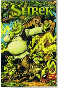 SHREK #1, NM, Ogre, Scott Shaw, Golden Goose, 2010, Donkey, more in store