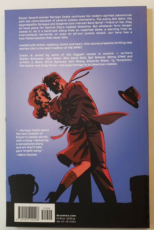 WILL EISNER'S  THE SPIRIT BOOK 2 TPB SOFT COVER DC COMICS NM