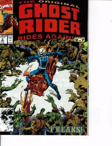 Lot Of 2 Marvel Comic Books Original Ghost Rider Rides Again #2 and #3 ON5