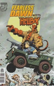 Fearless Dawn Meets Hellboy #1 VF/NM; Albatross | save on shipping - details ins