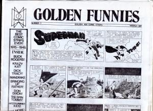 Golden Funnies #7 1973-newspaper comics reprints-Mandrake-Superman-Krazy Kat-NM