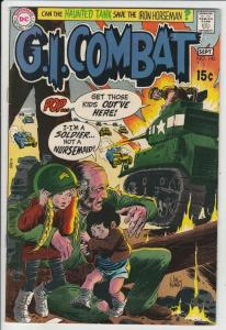 G.I. Combat #143 (Sep-70) VF/NM High-Grade The Haunted Tank