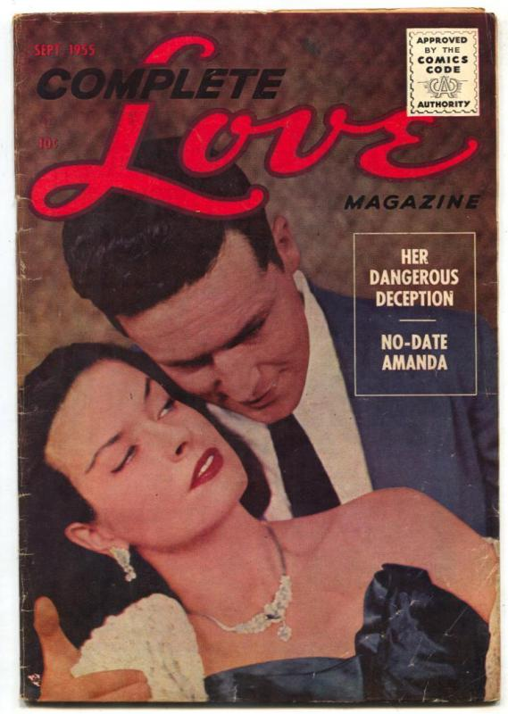 Complete Love Magazine Vol. 31 #4 1955- Golden Age VG