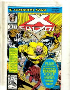 Lot of 12 X-Factor Marvel Comic Books #84, #85, #88, #89, #92, #93-99, JF20