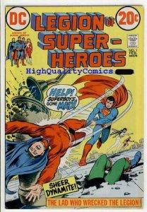 LEGION OF SUPER-HEREOS #1, FN, Superboy, Phantom Girl, 1973