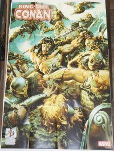 King-Size Conan #1 poster - 36 x 24 - Marvel Comics promo Jesus Saiz 1:200 RI