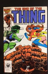 The Thing #36 (1986)