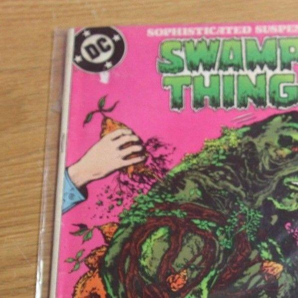Swamp Thing #43 (Dec 1985, DC) alan moore classic tale
