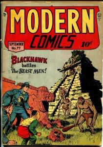 Modern #77 1948-Quality-Blackhawk-Torchy-Choo Choo-Bill Ward-VG