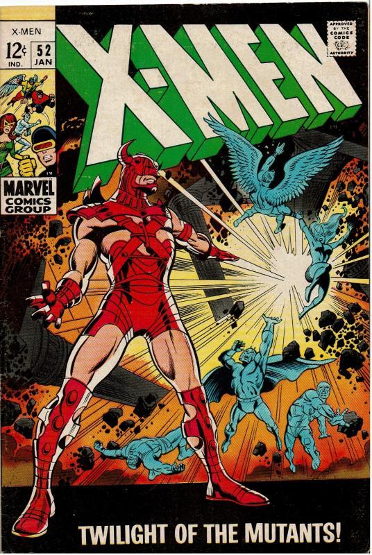 X-Men  #52, 4.5 or Better
