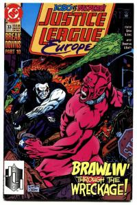 Justice League Europe 333-FIRST SONIC THE HEDGEHOG #1-Lobo-NM-