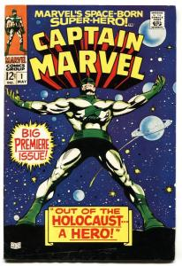 CAPTAIN MARVEL #1 First issue-1968-COSMIC MARVEL