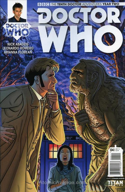 Doctor Who: The Tenth Doctor Year Two #4 VF; Titan | save on shipping - details