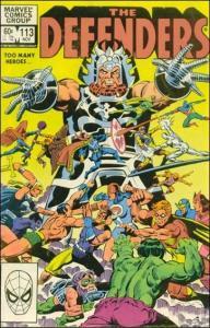 Marvel THE DEFENDERS (1972 Series) #113 VF+