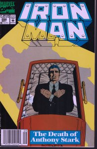 Iron Man #284 - VF - 1st Series - 1992 -