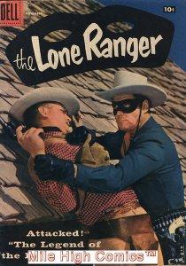 LONE RANGER (1948 Series)  (DELL) #113 Good Comics Book