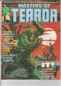 Master of Terror #1