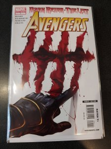 AVENGERS DARK REIGN THE LIST #1 ONE SHOT 2009 SERIES 1st PRINT
