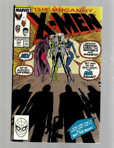 Uncanny X-Men # 244 NM Marvel Comic Book 1st Jubilee App. Wolverine JH6